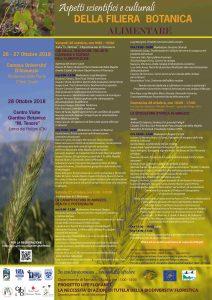 Il Life Floranet alle giornate a tema su aspetti scientifici e culturali della filiera botanica alimentare