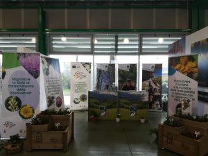 Il Parco Nazionale della Majella ha presentato il progetto Floranet alla Mostra del Fiore di Pescara