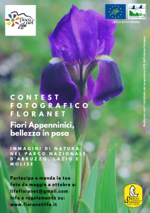 Contest fotografico Life Floranet, iscrizioni aperte fino al 20 ottobre