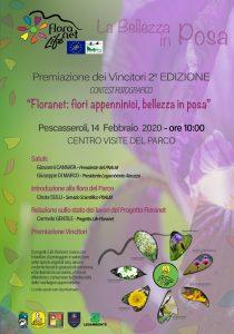 Il 14 febbraio, la premiazione del secondo contest fotografico Floranet. I fiori Parco nazionale d'Abruzzo Lazio e Molise