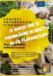 """Al via il III contest fotografico """"Floranet: fiori appenninici, bellezza in posa"""